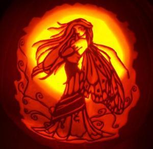 Pumpkin faerie