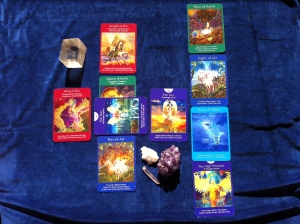 10 Card Angel Reading