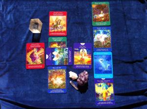 10 Card Angel Reading
