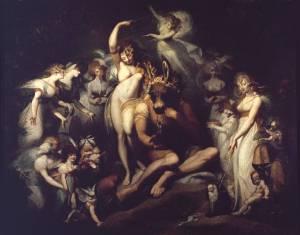 Titania and Bottom circa 1790 Henry Fuseli